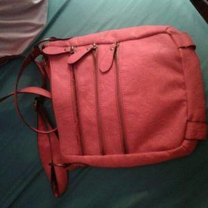 Orange/Brown purse , blue purse, silver wallet